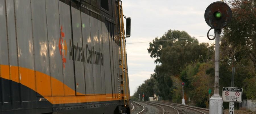 Amtrak California at Davis, CA